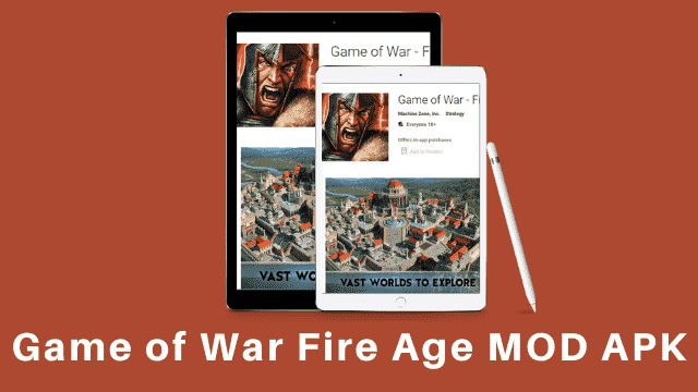 Game of War Fire Age APK Poster