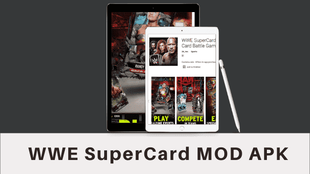WWE SuperCard Cover