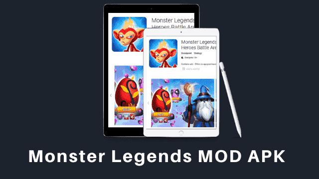 Monster Legends Cover