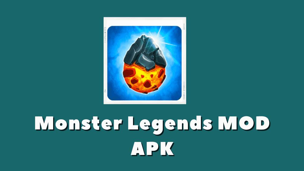 Monster Legends Mod Apk Poster
