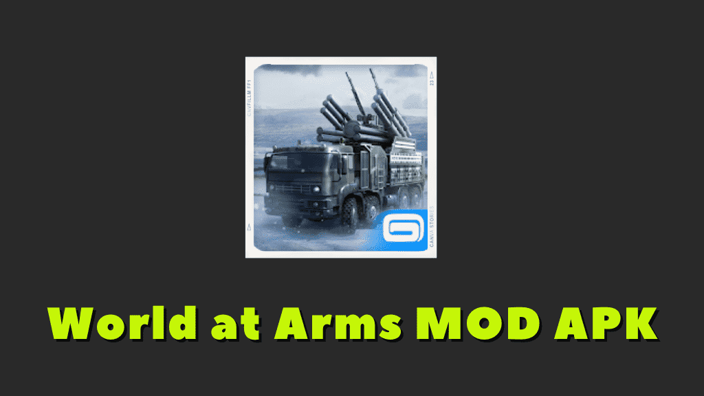World at Arms MOD APK Poster