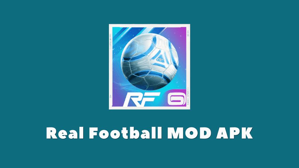 Real Football MOD APK Poster
