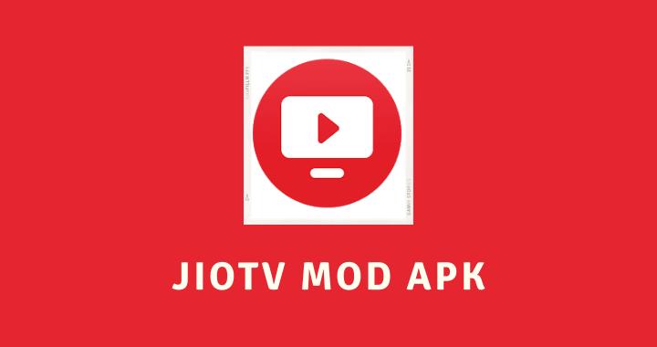 JioTV MOD APK Poster