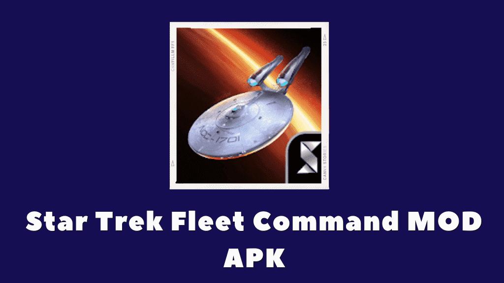 Star Trek Fleet Command MOD APK Poster