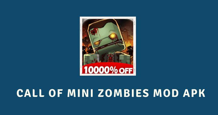 Call of Mini Zombies MOD APK Poster