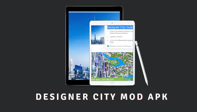 Designer City: building game Cover