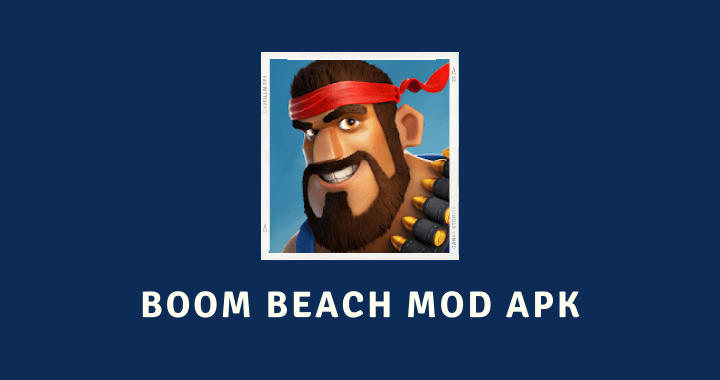 Boom Beach MOD APK Poster