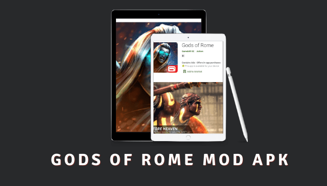 Gods Of Rome Cover