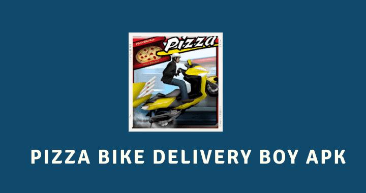 Pizza Bike Delivery Boy MOD APK