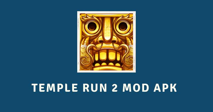 Temple Run 2 MOD APK Poster