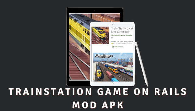 TrainStation Game On Rails Cover