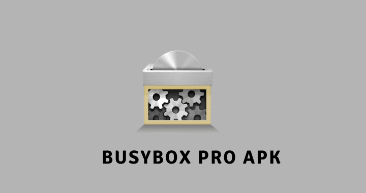 BusyBox Pro APK Poster