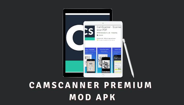 CamScanner Premium MOD APK Cover