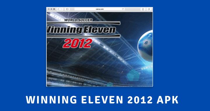 Winning Eleven 2012 Poster