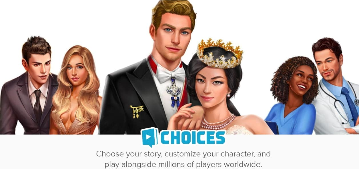 Choices: Stories You Play MOD APK Poster