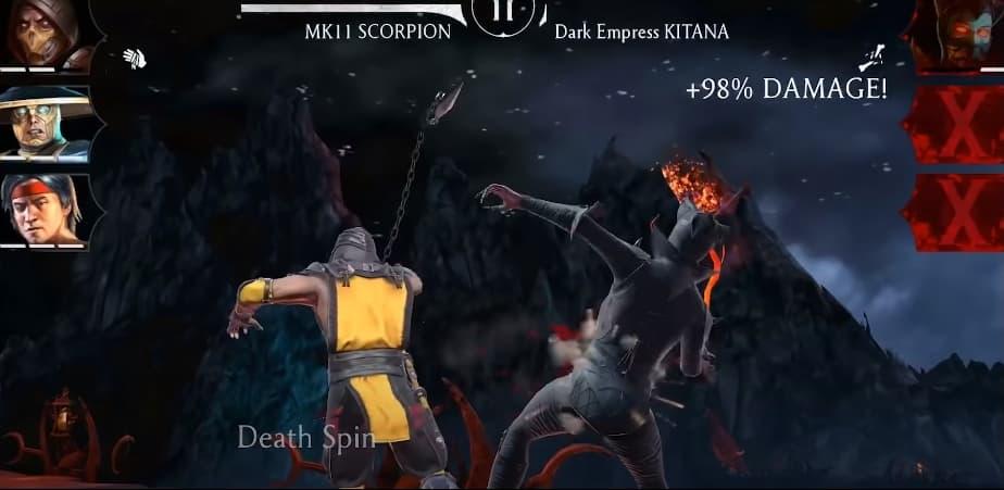 Mortal Kombat MOD APK Poster