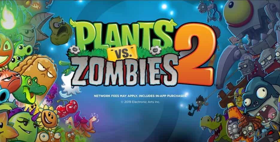 Plants vs zombies 2 MOD APK Poster