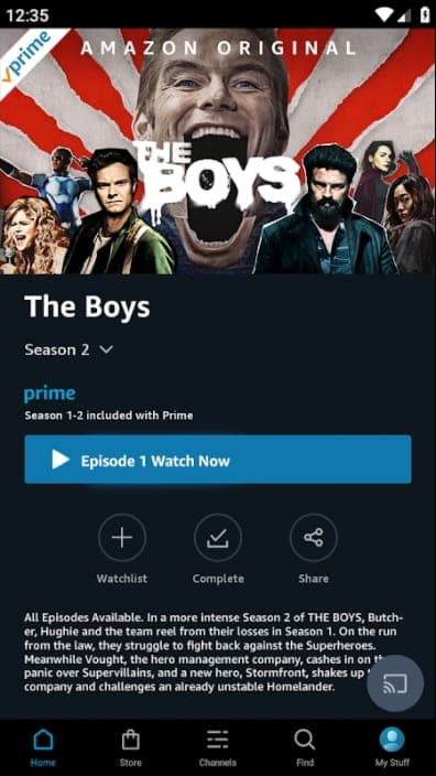 Amazon Prime Video MOD