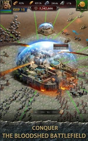 Clash of Kings Mod APK Private Server (Unlimited Money/Gold) 4