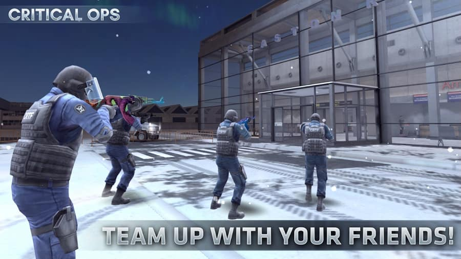 Critical Ops: Multiplayer FPS Poster