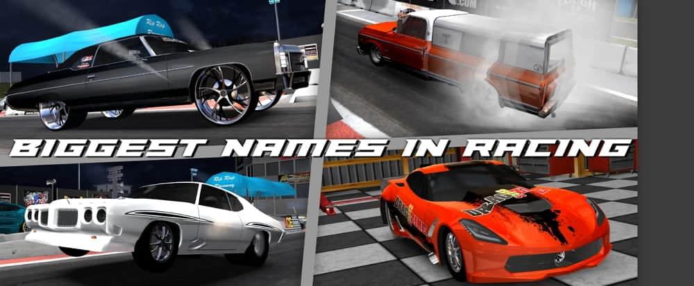 Door Slammers 2 Drag Racing Poster