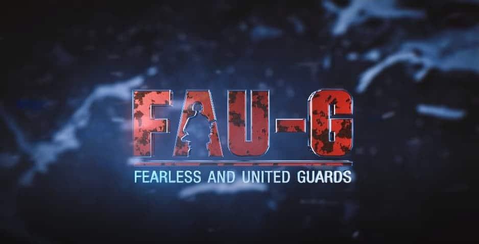 FAUG Game Poster