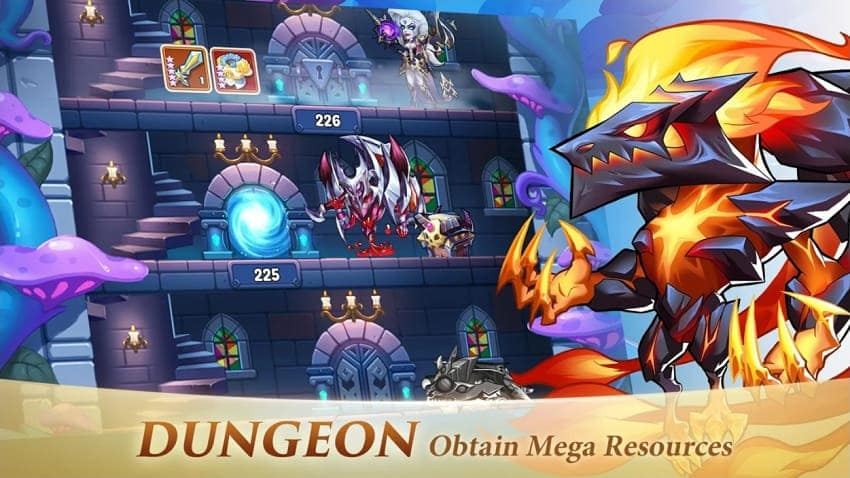 Idle Heroes Mod Apk private server