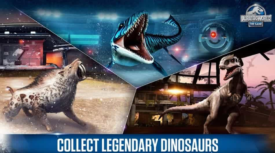 Jurassic World The Game Unlimited everything
