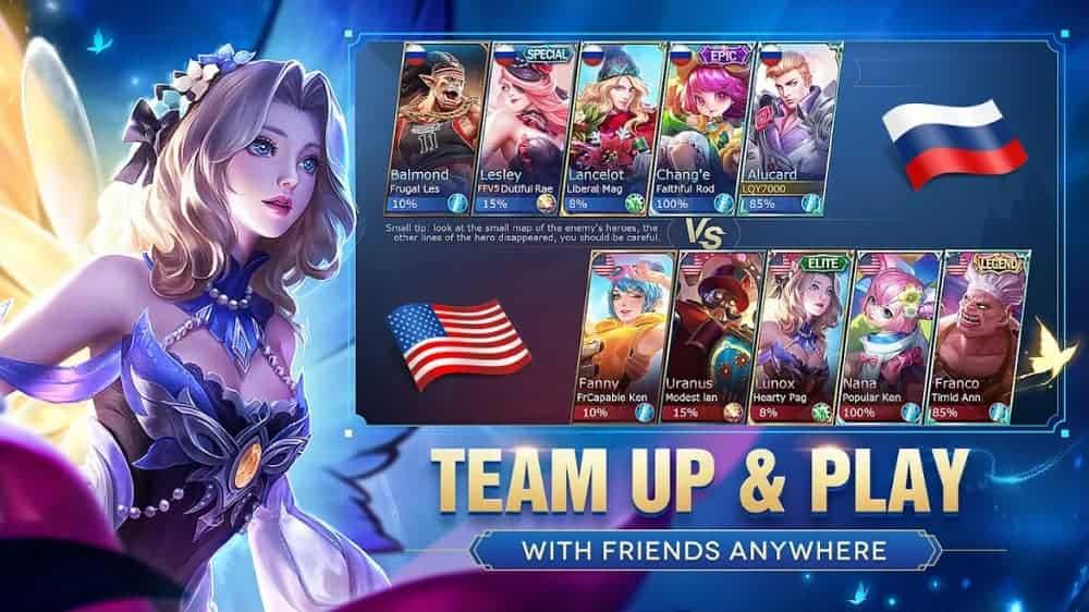 Mobile Legends Bang Bang Mod Apk Unlimited Money And Diamond 2021