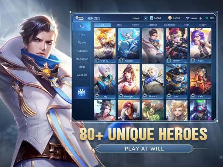 Mobile Legends Bang Bang Unlimited Skin