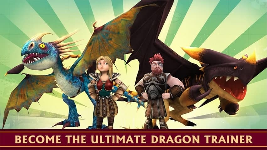 School of Dragons Mod Apk Unlimited Gems