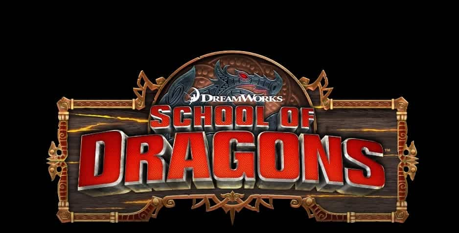 School of Dragons Poster