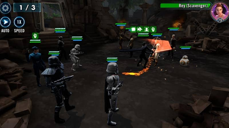 Star Wars: Galaxy of Heroes All characters