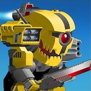 Super Mechs Mod Apk Arm Unlimited Money and Token