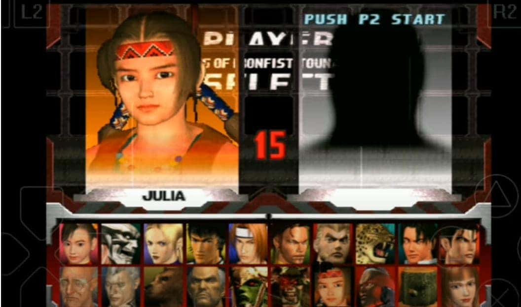 Tekken 3 Game All Players and Characters