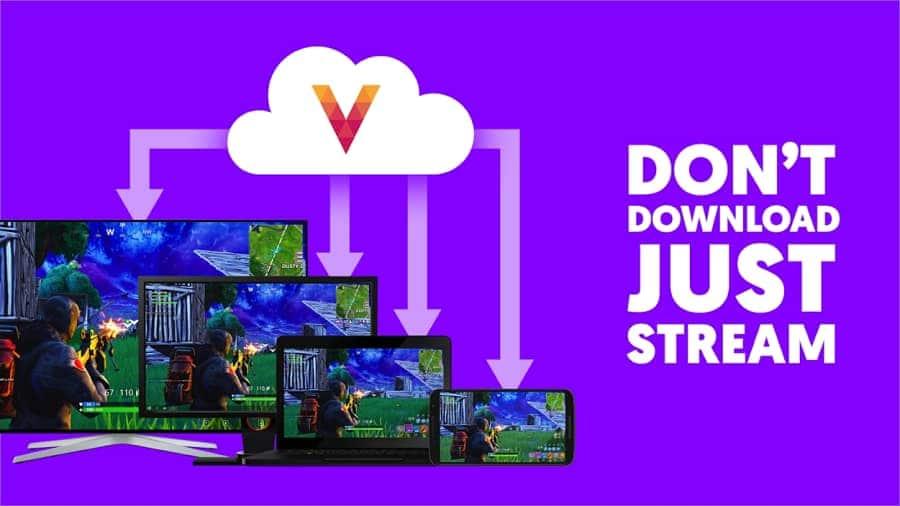 Vortex Cloud Gaming Poster