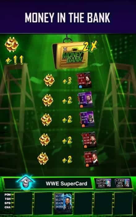 WWE SuperCard MOD Apk Unlimited credit