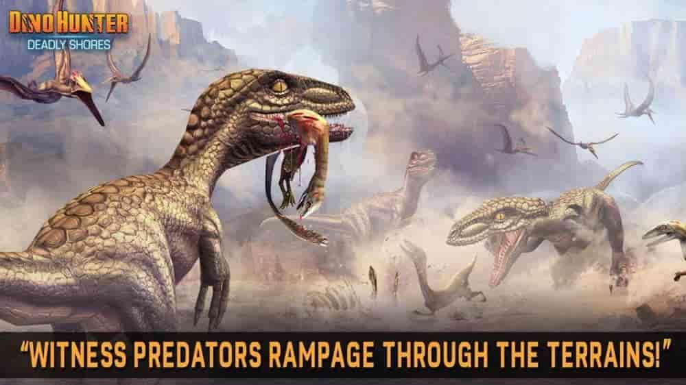 Dino Hunter Deadly Shores-Download for Android
