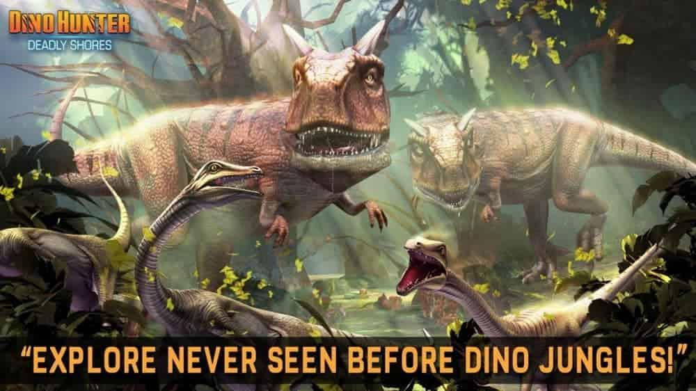 Download Dino Hunter Mod Apk Latest Version