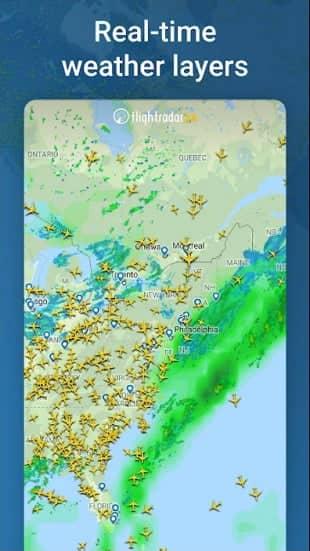 Flightradar24 MOD APK Gold Unlocked
