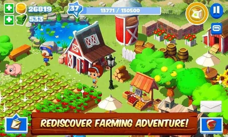 Green Farm 3 Mod Apk Unlimited cash coins