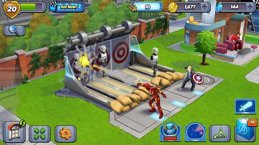 Marvel Avengers Academy Unlimited Gems