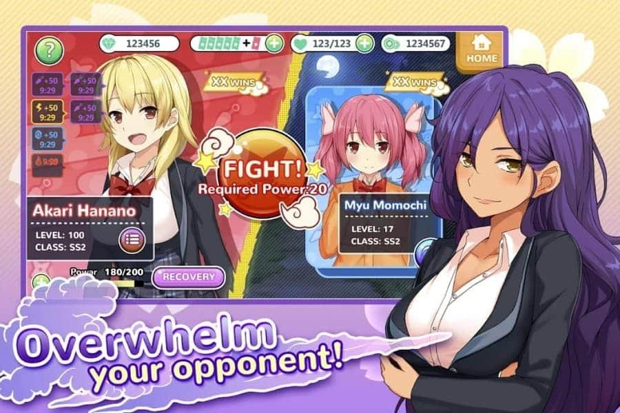 Moe! Ninja Girls MOD APK Unlimited Tickets