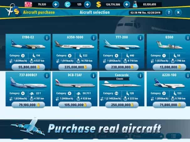 Airlines Manager MOD Unlimited Money