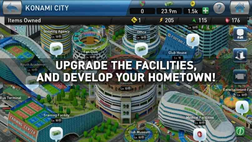 Download PES CLUB MANAGER