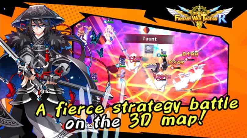 Fantasy War Tactics R APK MOD