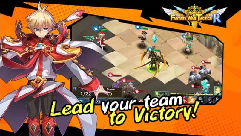 Fantasy War Tactics R MOD Unlimited Crystals