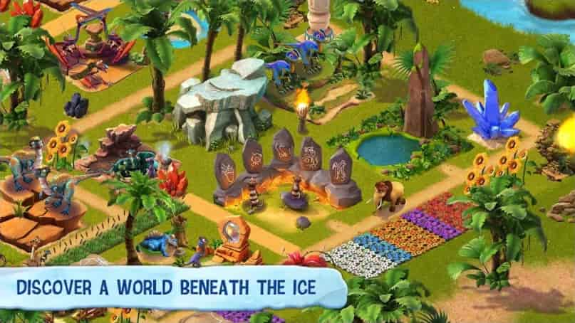 Ice Age Village MOD Unlimited Money