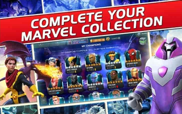 Marvel Contest of Champions Apk Unlimited Unit