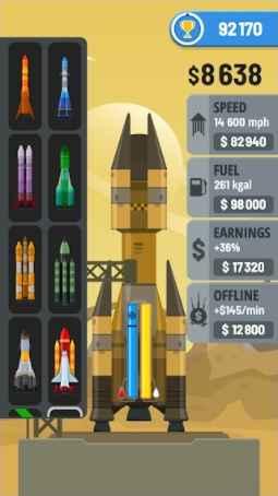 Rocket Sky MOD Unlimited Money
